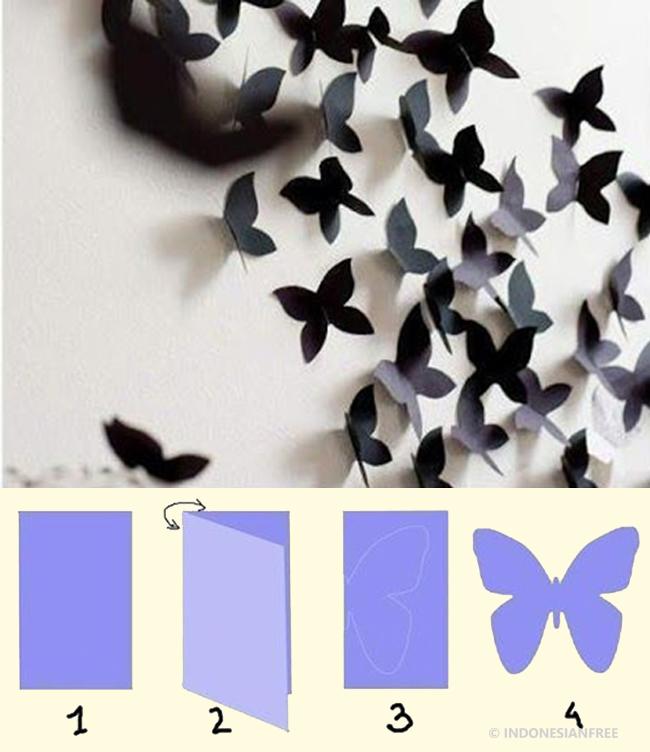 6 Inspirasi Membuat Hiasan Dekorasi Untuk Kamar Tidur Yang