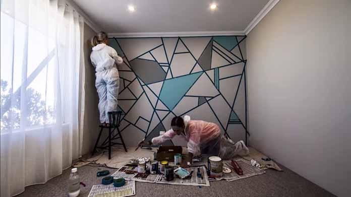 Dekorasi Dinding Kusammu Hanya Dengan Menggunakan Plaster