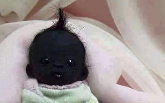 Bayi aneh dan mengerikan