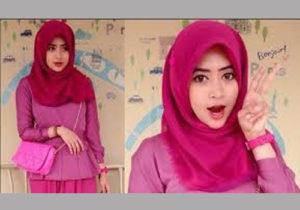 model hijab 2016 Jilbab Segiempat