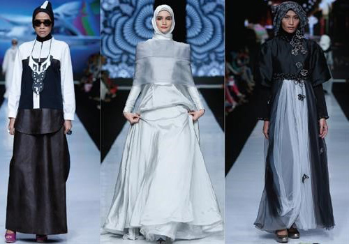 model hijab 2016 Klasik