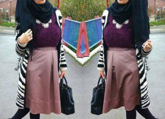 model hijab lagi ngetren