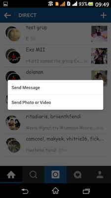 cara mencari grup di instagram