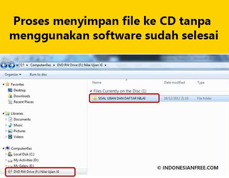 cara copy lagu dari cd original ke laptop
