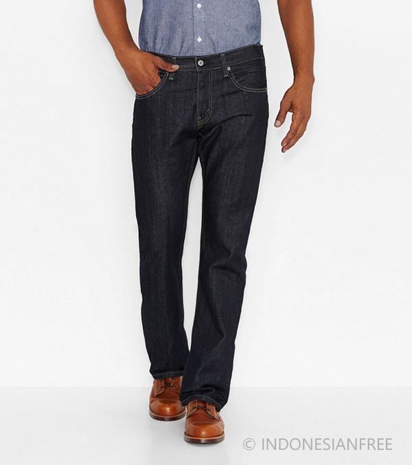 model celana jeans pria sesuai bentuk tubuh