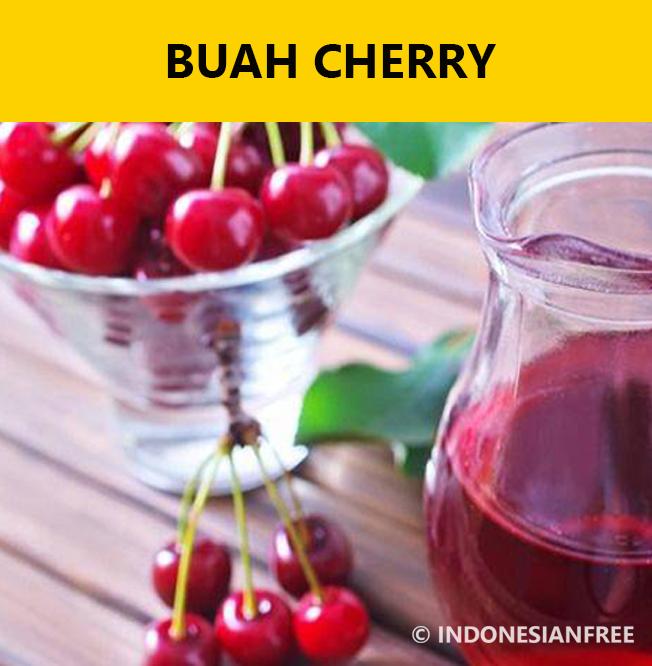 resep masakan untuk penderita asam urat dan kolesterol Buah Cherry