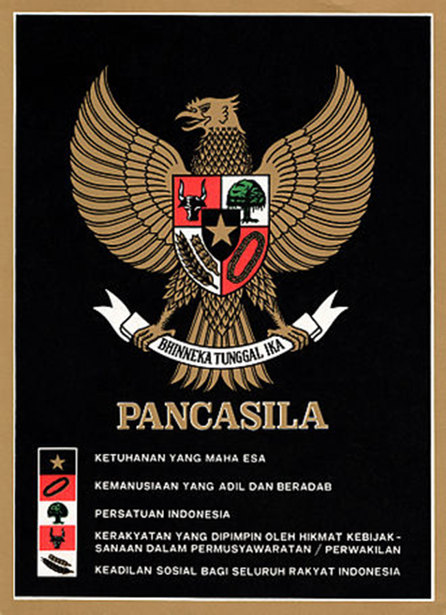 Garuda Pancasila indonesia