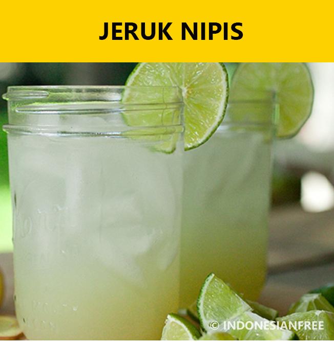 makanan penurun asam urat dan kolesterol Jeruk Nipis