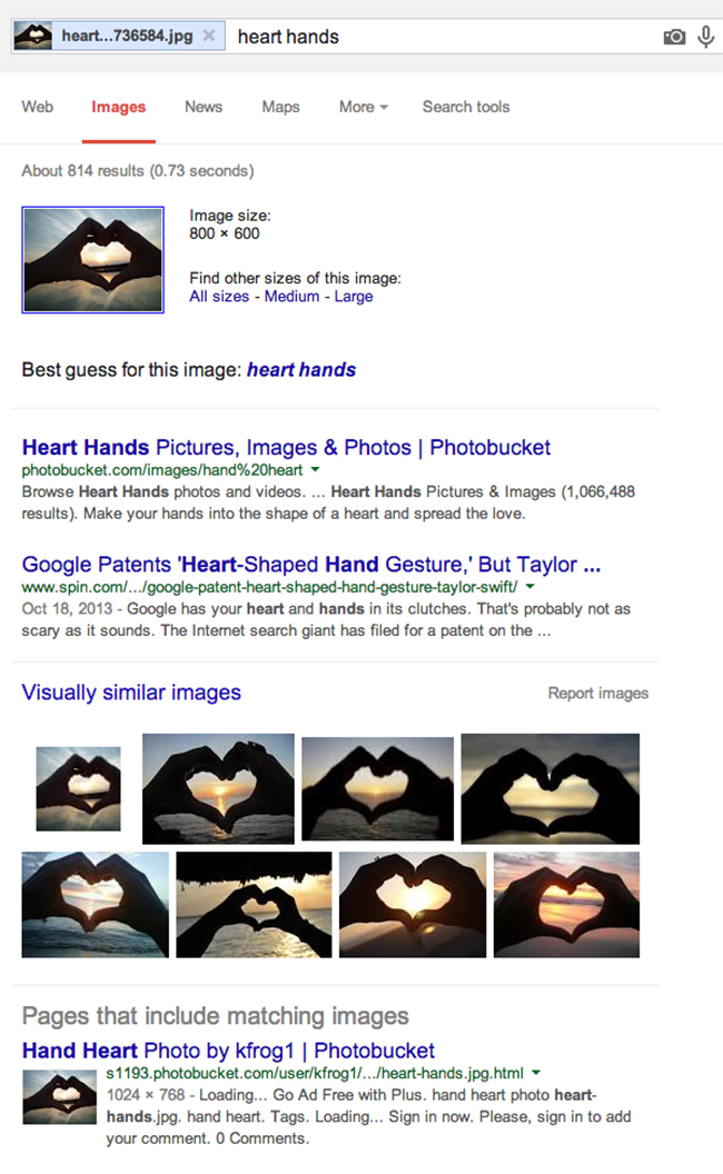 Mencari Gambar di google