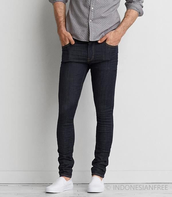 celana jeans pensil pria terbaru