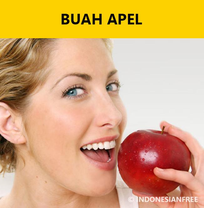 pilihan makanan penderita asam urat buah apel