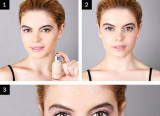 cara make up yang benar beserta gambarnya