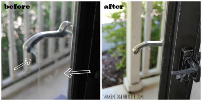 cara membersihkan kaca yang buram