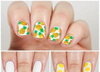 cara membuat nail art lucu