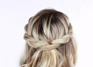 cara menata rambut yang simple tapi cantik