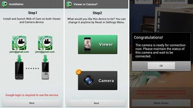 menjadikan smartphone android sebagai cctv