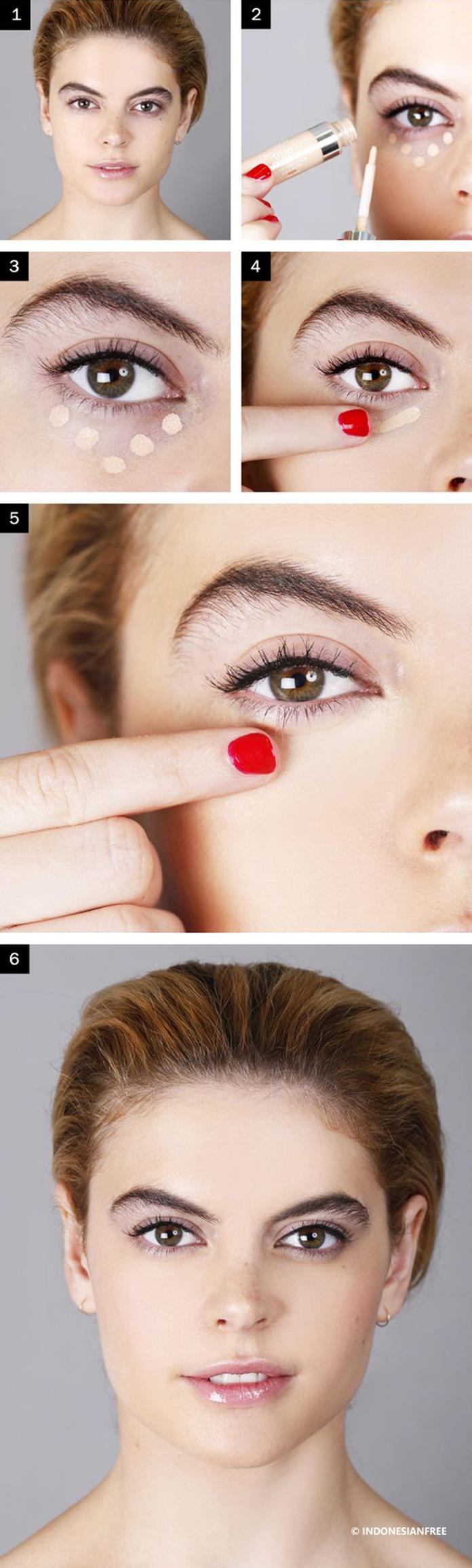 tutorial make up minimalis wajah bulat