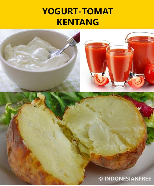 yogurt tomat kentang makanan penurun asam urat dengan cepat