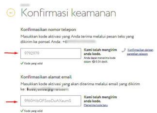 Email konfirmasi keamanan cara mencegah kejahatan komputer