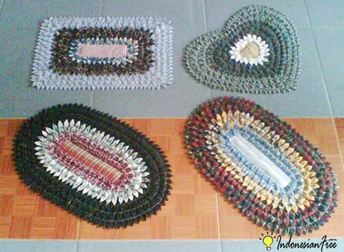 Kain Bekas bisnis kerajinan tangan daur ulang yang menguntungkan