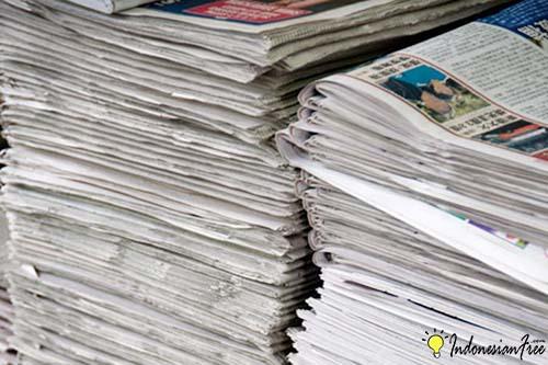 Kertas dan Koran Bekas bisnis kerajinan tangan daur ulang yang menguntungkan