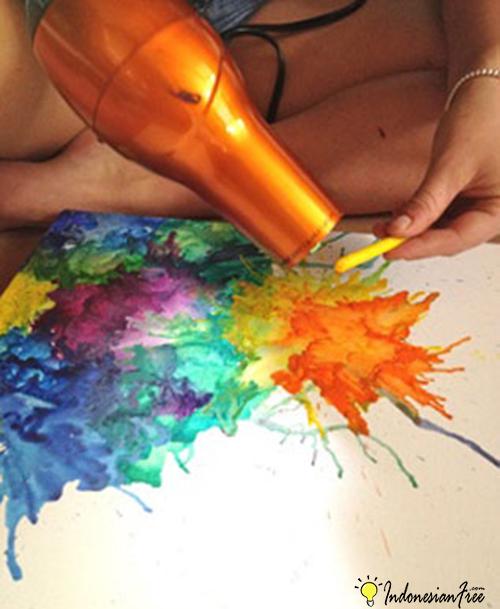 Membuat Warna Sendiri cara membuat mainan anak edukatif