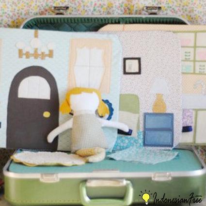 Tempat Tidur Untuk Boneka cara membuat mainan anak edukatif