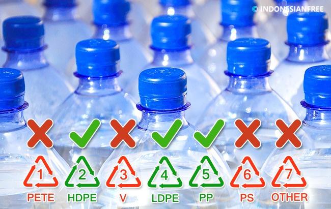 bahaya botol aqua bekas