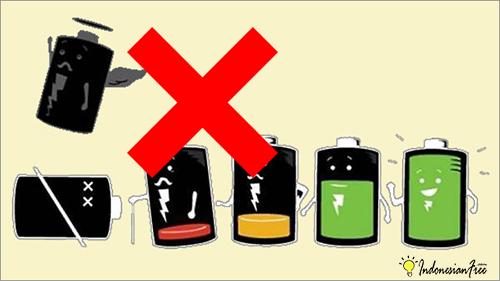 baterai hp cepat habis padahal baru