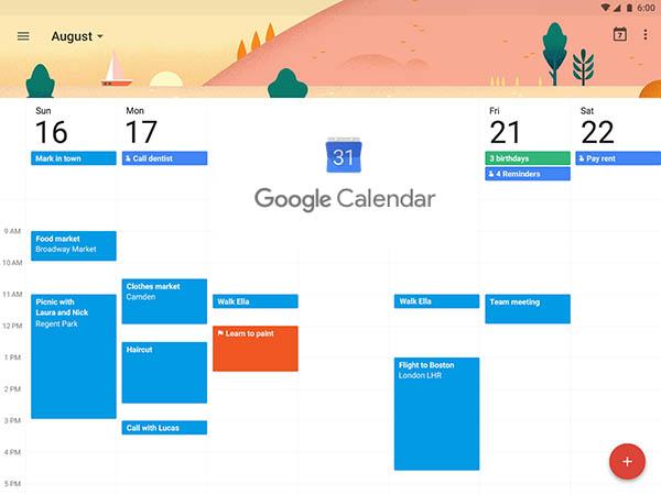 cara mengoperasikan google calendar