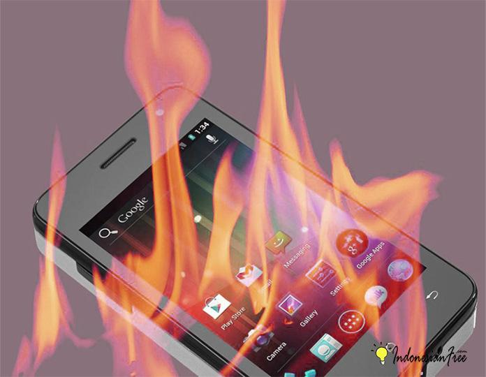 hp android panas sendiri
