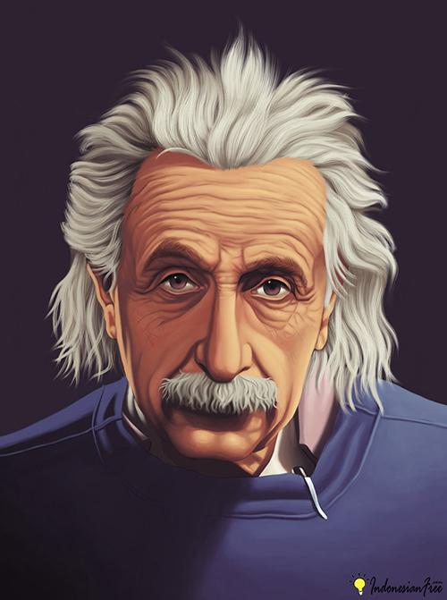 karakter orang jenius Albert einstein1
