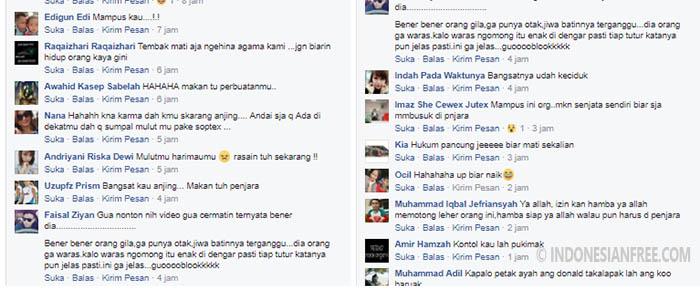 komentar netizen tentang donald frans