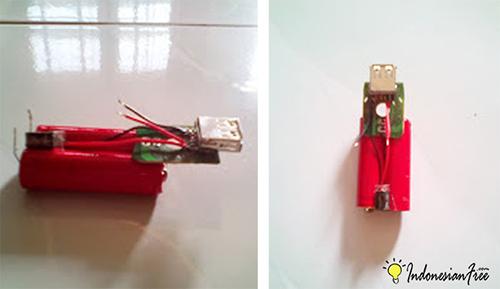 membuat powerbank sederhana yang bisa di charger