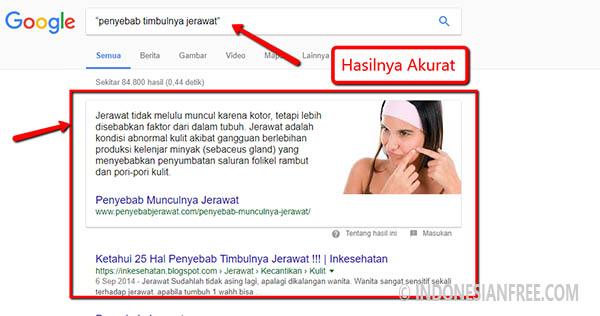 tips menggunakan google search
