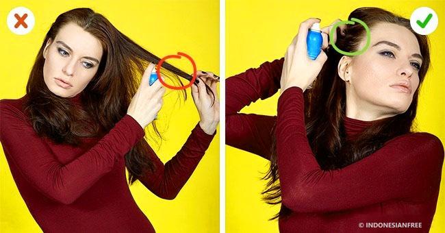 cara agar rambut tebal terlihat tipis