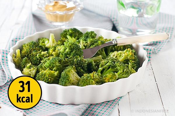 Brokoli makanan untuk diet ketat