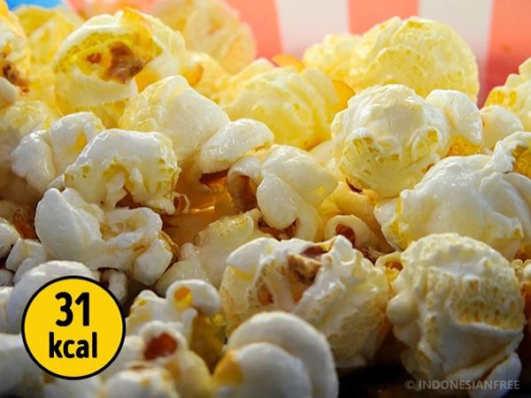 Popcorn daftar menu diet menurunkan berat badan