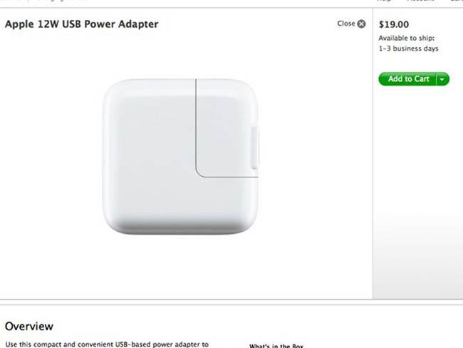 Tidak Boleh Menggunakan Charger iPad untuk mengisi Baterai IPhone