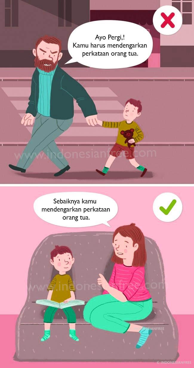 Kata Kata Yang Tidak Boleh Diucapkan Pada Anak