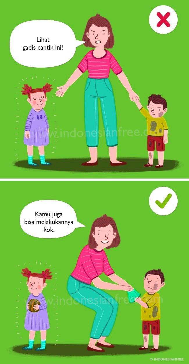 kata mutiara mendidik anak