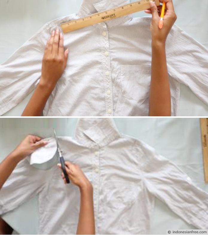 cara membuat baju lama menjadi modis