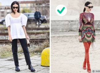 cara berpakaian agar terlihat tinggi dan langsing