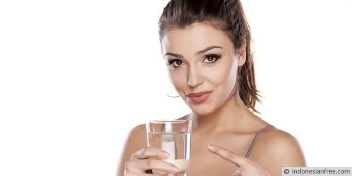 cara diet sehat minum air putih