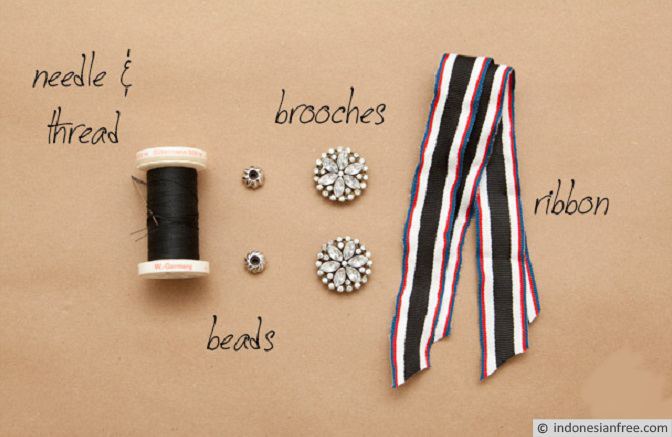 cara membuat gelang tali dari bahan bekas