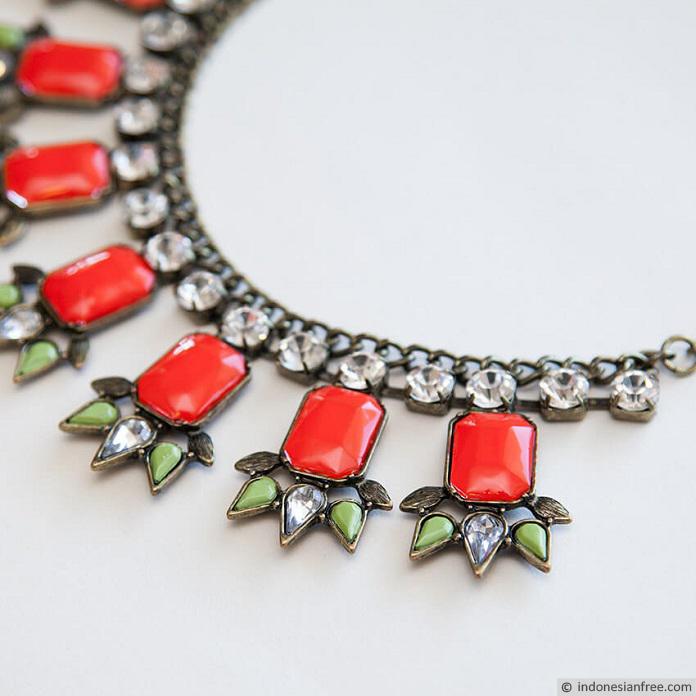 cara membuat kalung handmade