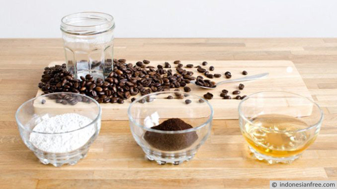 cara membuat masker kopi untuk wajah
