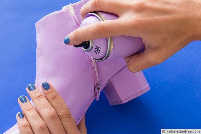 cara membuat sepatu boots kulit