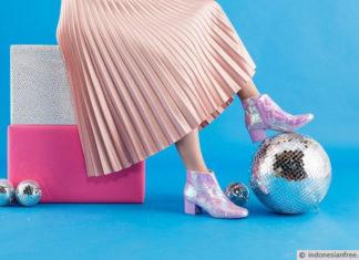 cara membuat sepatu boots wanita
