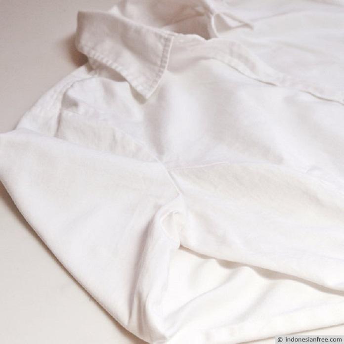 cara memutihkan baju putih yang kusam